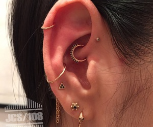 piercing, jewelry, and style image