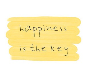 happiness, quotes, and yellow image