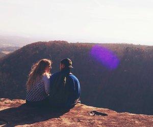 couple, runaway, and good vibes image