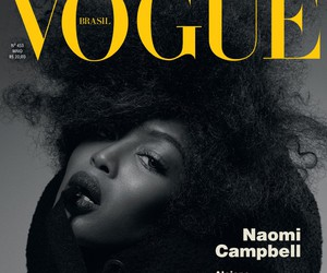 model, Naomi Campbell, and fashion image