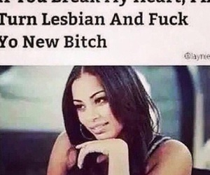 funny, lesbian, and bitch image