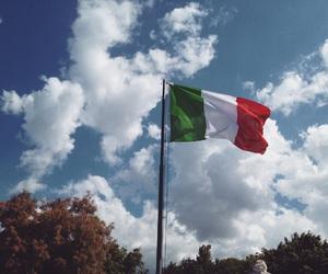 italian, flag, and italia image