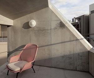 aesthetic, balcony, and house image