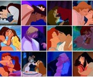 kiss and love image