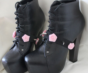 goth, grunge, and boots image