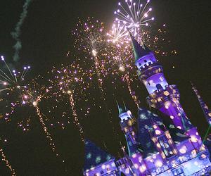 disney, Dream, and fireworks image