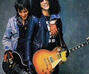 Guns N Roses, slash, and izzy stradlin image