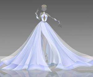 Know, anime girl in ball gown idea consider