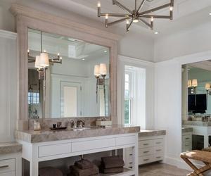hamptons, interior, and bathroom image