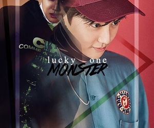 exo, suho, and monster image