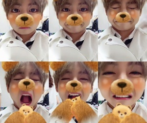 v, bts, and cute image