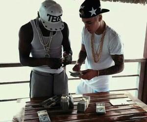 justin bieber, money, and justinbieber image