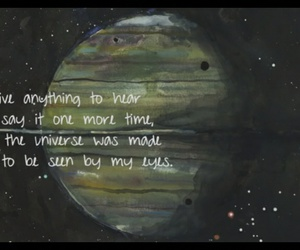 quotes, stars, and music image
