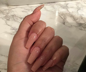 cream, goals, and nails image