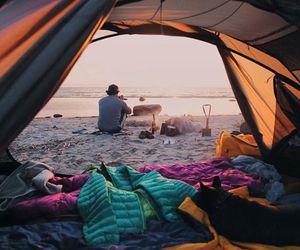 nature, camping, and life image