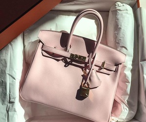 bag, pink, and luxury image