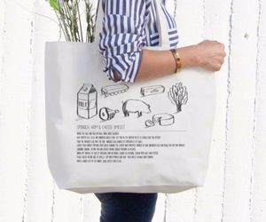 ebay, tote bag, and canvas bag image