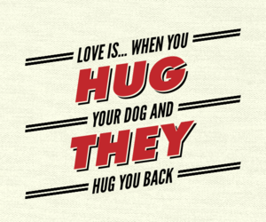 love quote, puppy, and love image