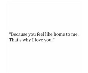 quotes, love, and home image