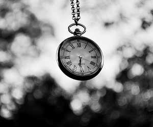 black and white and watch image