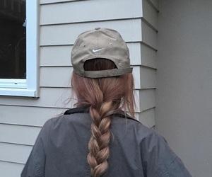 nike, girl, and braid image