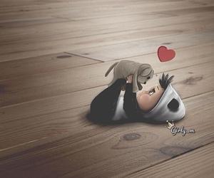 baby, girly_m, and panda image