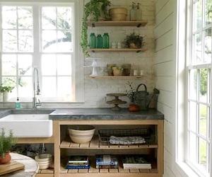 beautiful, farmhouse, and kitchen image
