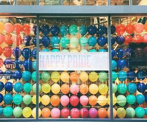 pride, rainbow, and love image