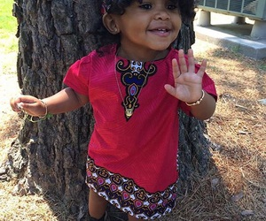 African, baby, and beauty image