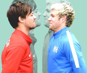 football, louis, and niall image