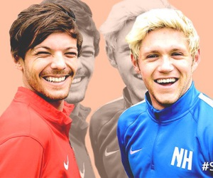 football, louis, and happiness image