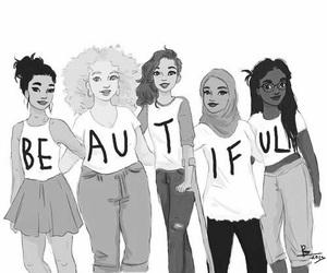 beautiful, woman, and beauty image