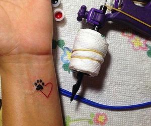 tattoo and dog image