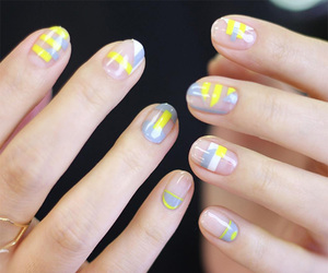 manicure, nails, and cute image