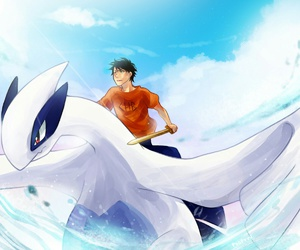 fanart, pjo, and pokemon image