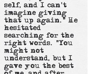 nicholas sparks, the best of me, and love image