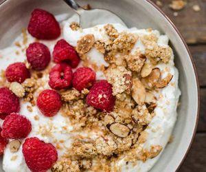 breakfast, food, and granola image