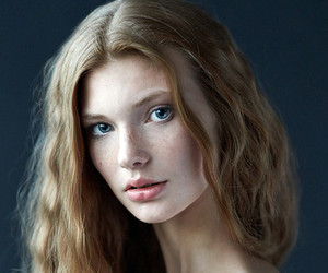 freckles, cute, and girl image