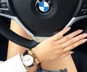 car, bmw, and nails image