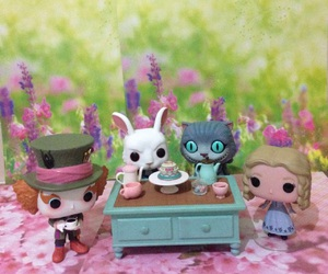 alice, funko pop, and alice in wonderland image