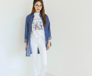 asian fashion, kfashion, and korean fashion image