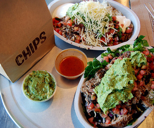 food, chipotle, and chips image