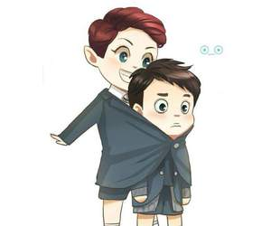 exo, chansoo, and fanart image