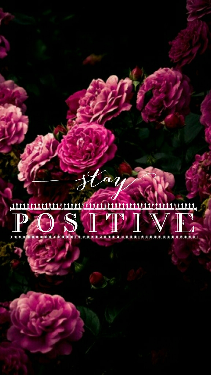 stay positive uploaded by miriam on we heart it