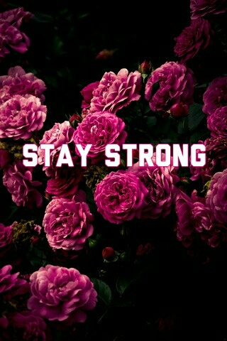 stay strong shared by miriam on we heart it