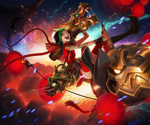 jinx, league of legends, and lol image