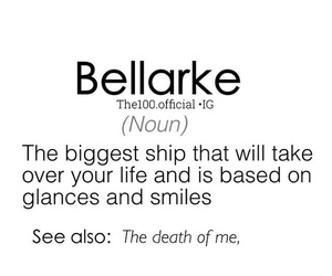 bellarke, the 100, and ship image