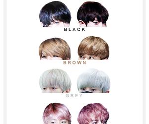 exo, hair, and chanbaek image