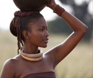 beautiful, African, and africa image