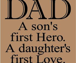 dad, love, and hero image